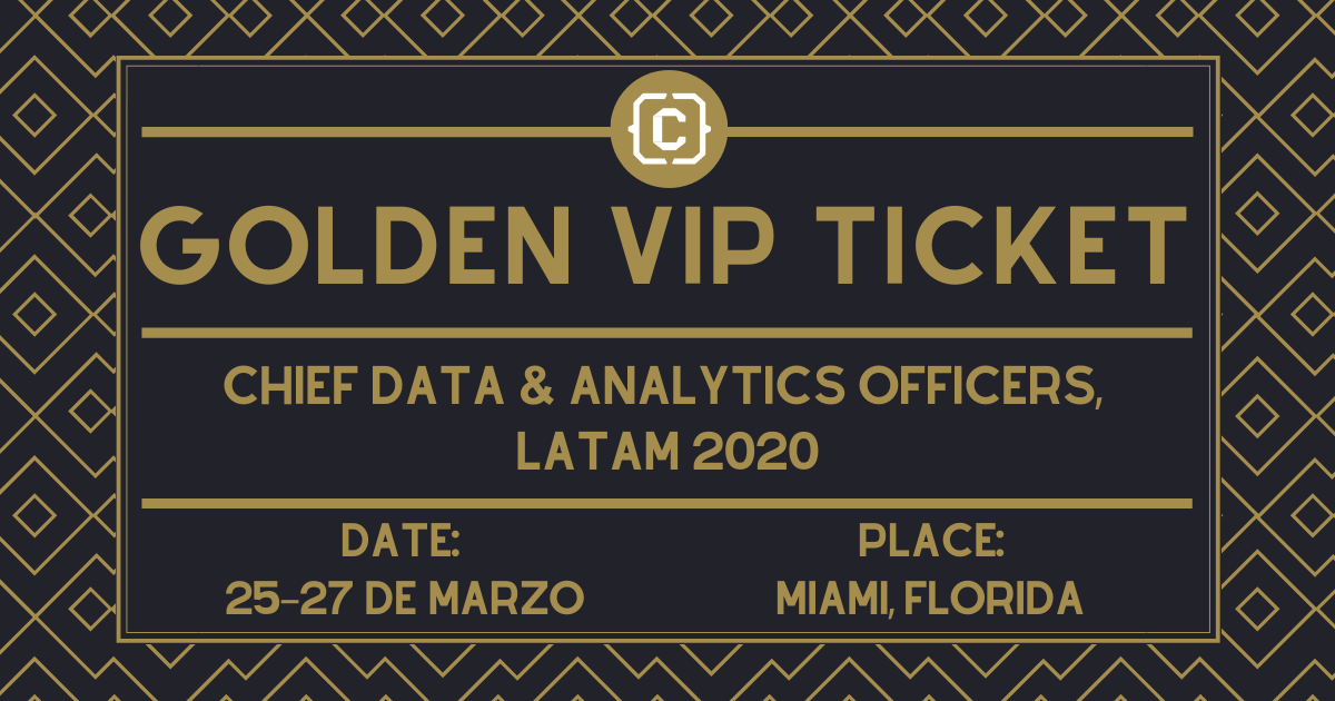 CDAO LatAm 2020 - GOLDEN TICKET